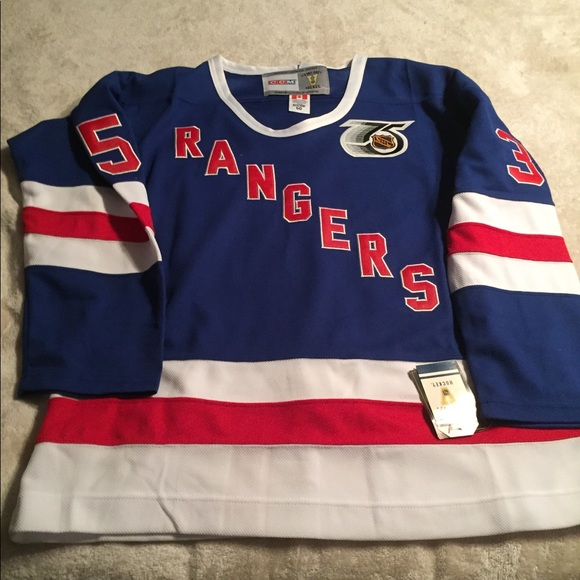 online retailer 16476 71b9c New York Rangers jersey Mike Richter TBTC NWT
